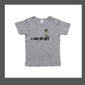IRON LIFTER - Infant Wee-Tee 0 - 24 Months by AS Colour