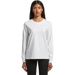Women's Dice Long Sleeve Cuff T Shirt by 'As Colour '