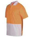 Hi Vis Kids Non Cuff Traditional Polo
