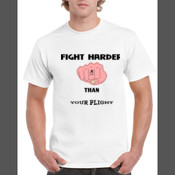 FIGHTER  - Men's 'Gildan' Regular Fit Sturdy Cotton T Shirt