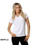 Women's Delta Combed Cotton Pique Polo