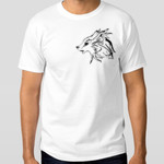 Gray Wolf (Canis Lupus) - Men's Hanes Surf Classic White T-Shirt