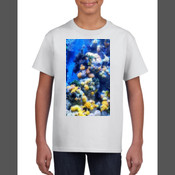 Coral Seascape - Gildan YOUTH T Shirt SPECIAL