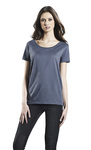Women's Open Neck Organic Carbon Neutral Tee