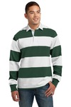 Sport-Tek Classic Long Sleeve Rugby Polo